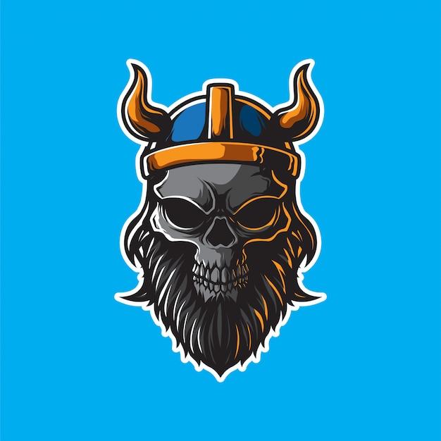 Logo viking head