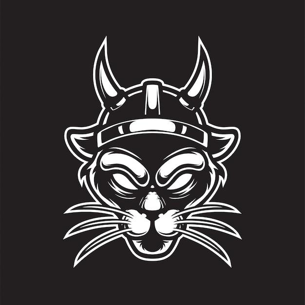 Logo viking panther