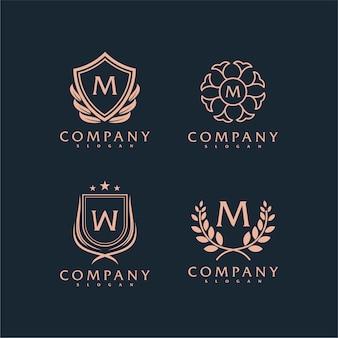 Logo vintage wektor premium