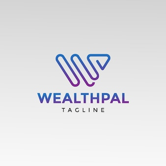 Logo w letter