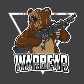 Logo warbear esport