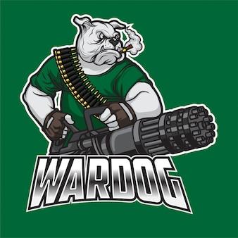 Logo wardog esport
