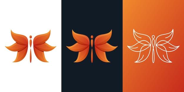 Logo ważki