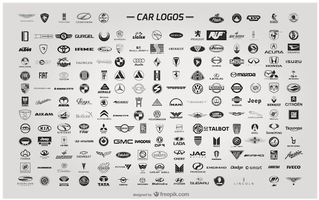 Logo wektor samochód
