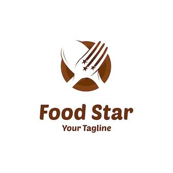 Logo wektor żywności star star
