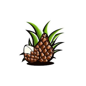 Logo węża owocowego