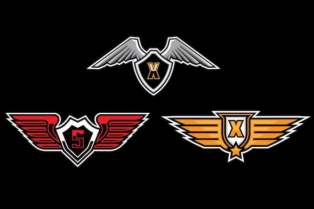 Logo wings esport