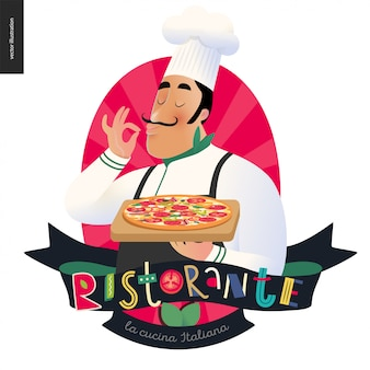 Logo włoskiej restauracji
