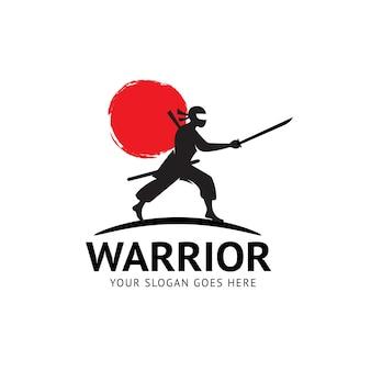 Logo wojownika ninja