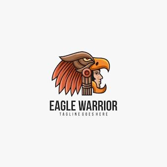 Logo wojownika orła