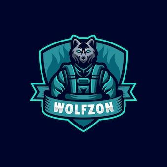 Logo wolf e sport