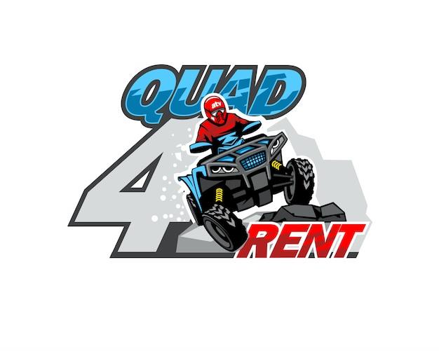 Logo wypożyczonego roweru qad