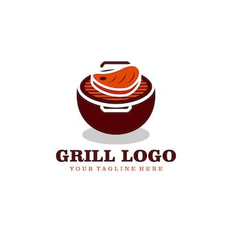 Logo z grillem