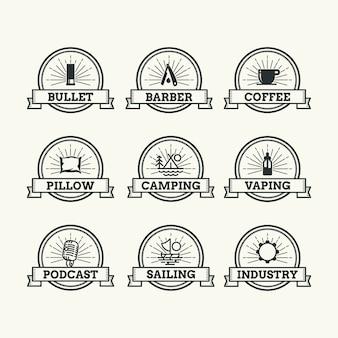 Logo z kolekcji wstążki