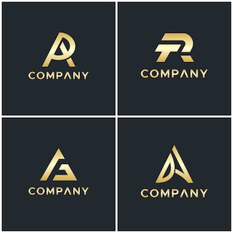 Logo z monogramem