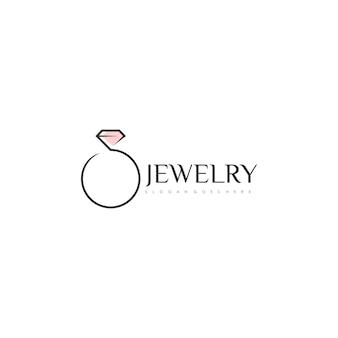 Logo z pierścieniem