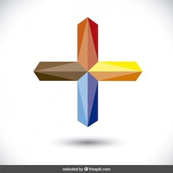 Logo z postaci krzyża