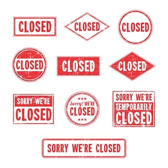 Logo zamkniętego znaku