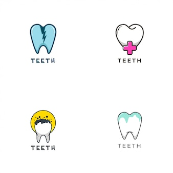 Logo zębów
