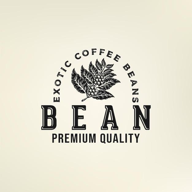 Logo ziaren kawy