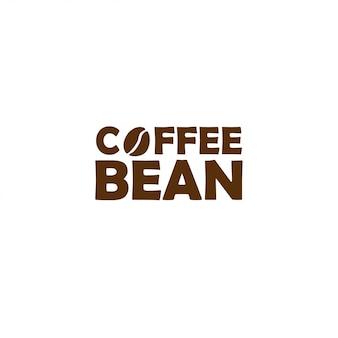 Logo ziarna kawy