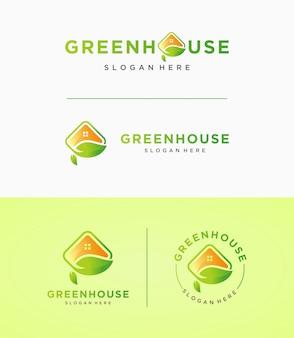 Logo zielonego domu