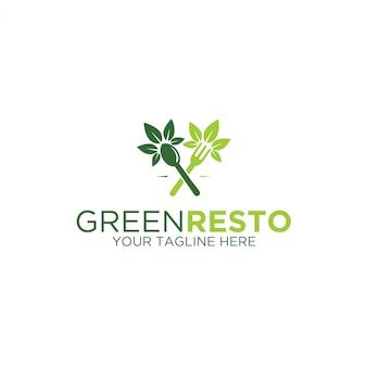 Logo zielonej restauracji
