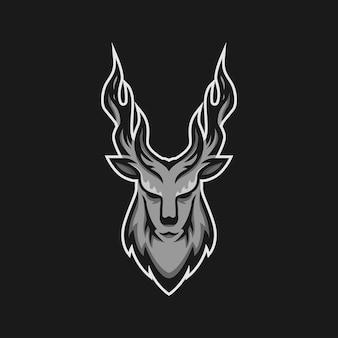 Logo złego jelenia