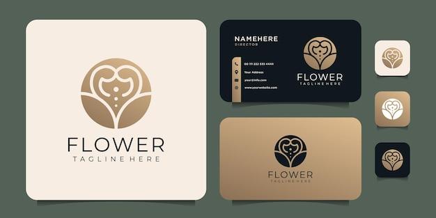 Logo złotego kwiatu