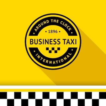 Logo znaczka taksówki