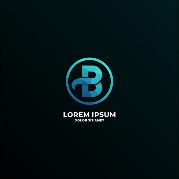 Logotyp litery b.