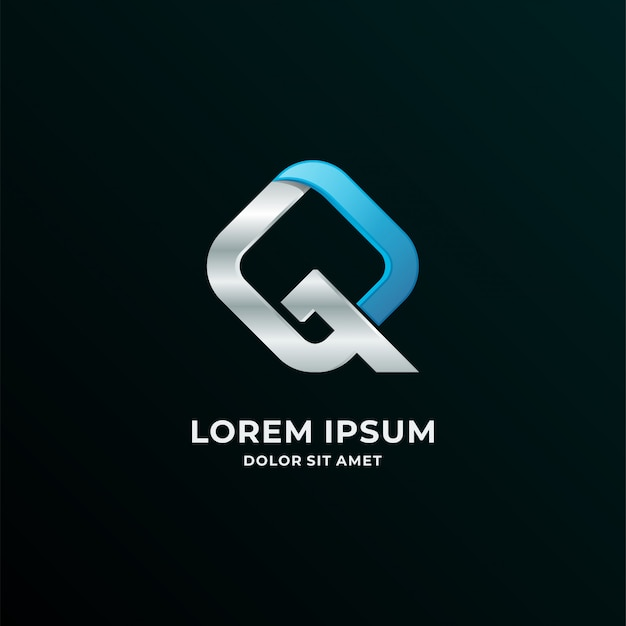 Logotyp litery q