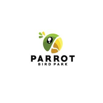 Logotyp papugi
