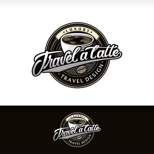 Logotyp sklepu z kawą