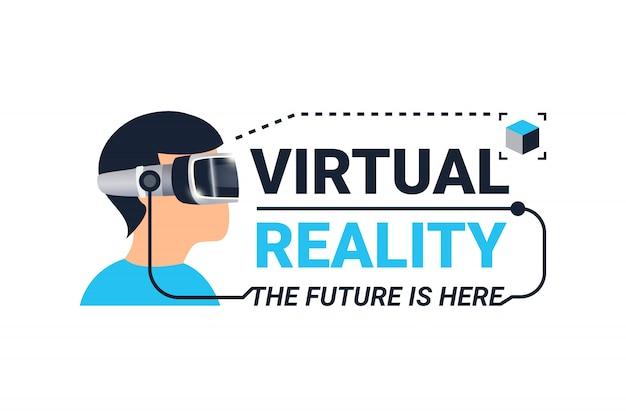 Logotyp wirtualnej rzeczywistości