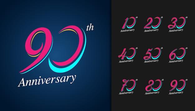 Logotyp z okazji rocznicy
