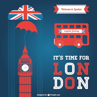 Londyn wektorowe elementy graficzne
