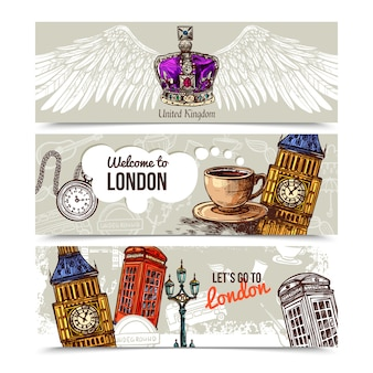Londyńskie poziome banery