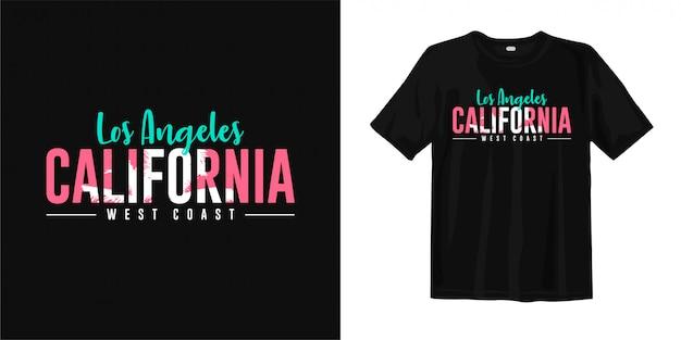 Los angeles, kalifornia - zachodnie wybrzeże.