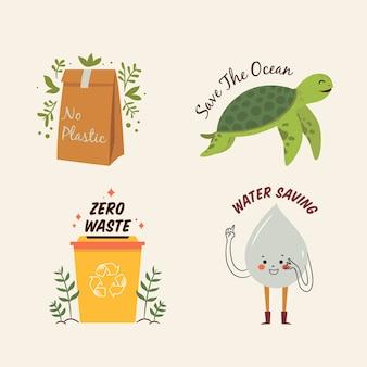 Losowanie kolekcji odznak ekologii