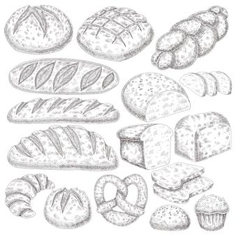 Losowanie produktów piekarniczych.