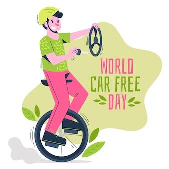 Losowanie świata bez samochodu