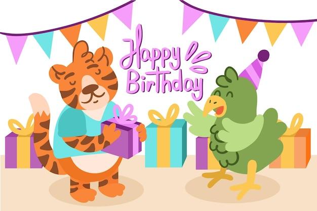 Losowanie tła urodziny