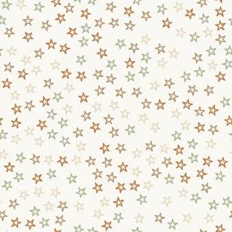 Losowe kolorowe gwiazdki wzór, streszczenie tło. elegancka i luksusowa ilustracja w stylu