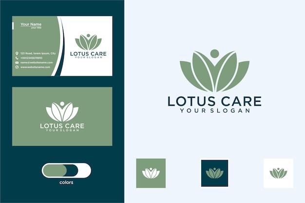Lotus z troską o logo i wizytówkę