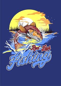 Łowienie ryb czerwonych