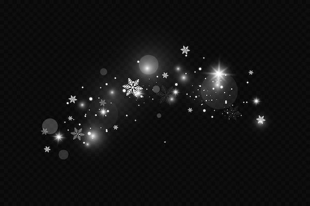 Lśniące cząsteczki gwiazd czarodziejskiego pyłu