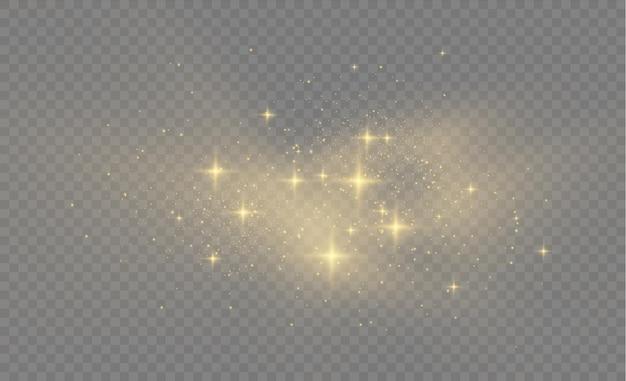 Lśniące, magiczne cząsteczki kurzu
