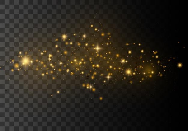 Lśniący efekt świetlny