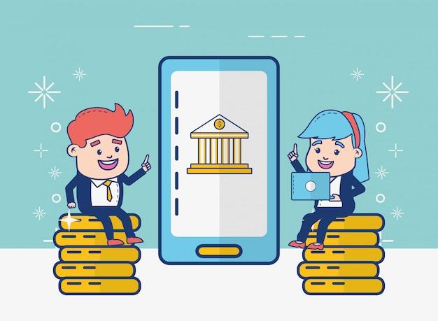 Ludzie bankowości internetowej
